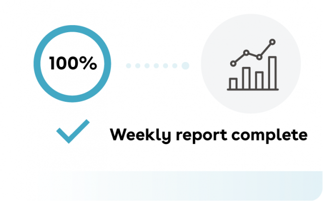 Weekly report complete