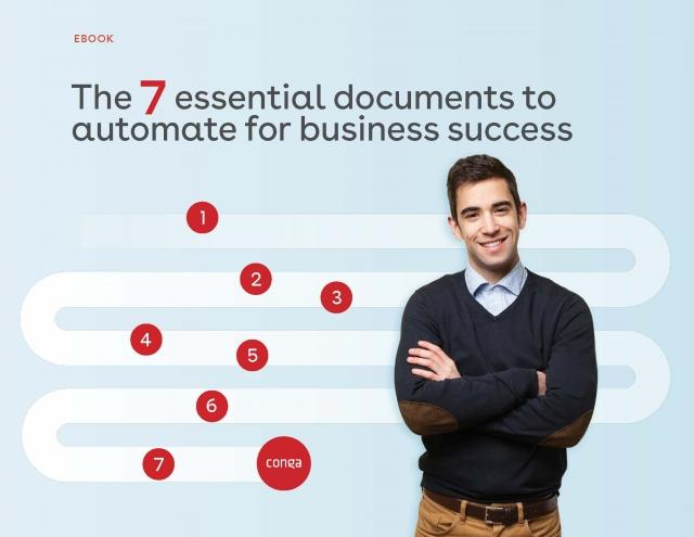 "Cover of ""The 7 essential documents to automate for business success"" eBook"