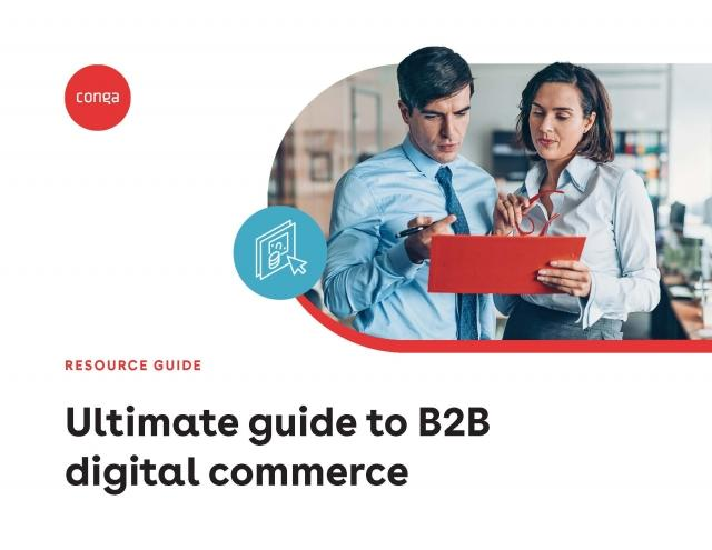 "Cover of ""Ultimate guide to B2B digital commerce"""