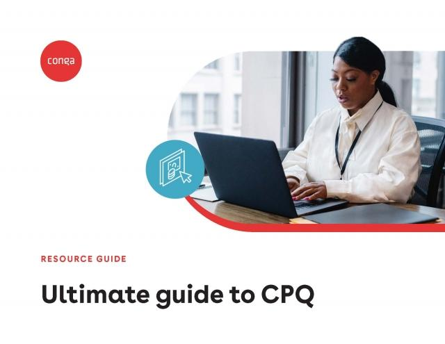 "Cover of ""Ultimate guide to CPQ"""