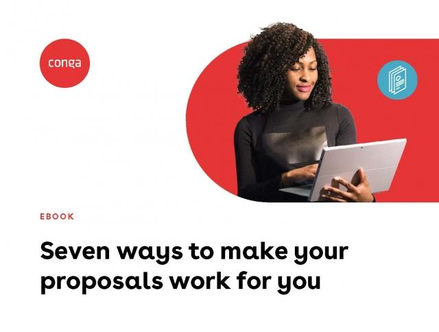 "Cover of ""Seven ways to make your proposals work for you"" eBook"