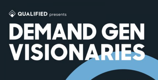 Demand Gen Visionaries Podcast Logo